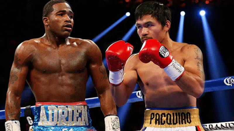 Manny Pacquiao Announces He's Fighting Adrien Broner Next