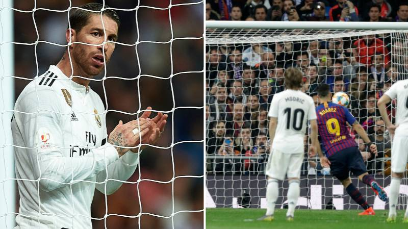 What Sergio Ramos Said To Madrid Teammates At 3-0 Proves How Far Real Have Fallen
