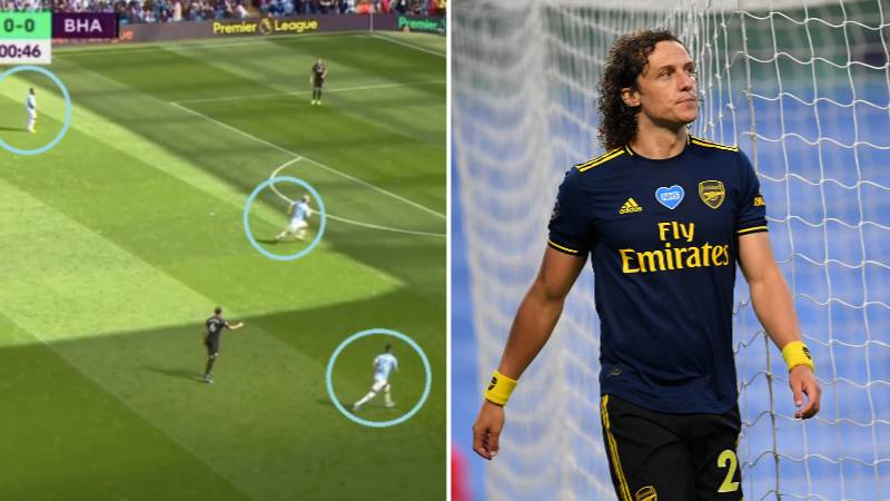 Arsenal Fan Gave A Tactical Analysis On How They Could Beat City, And Then David Luiz Happened