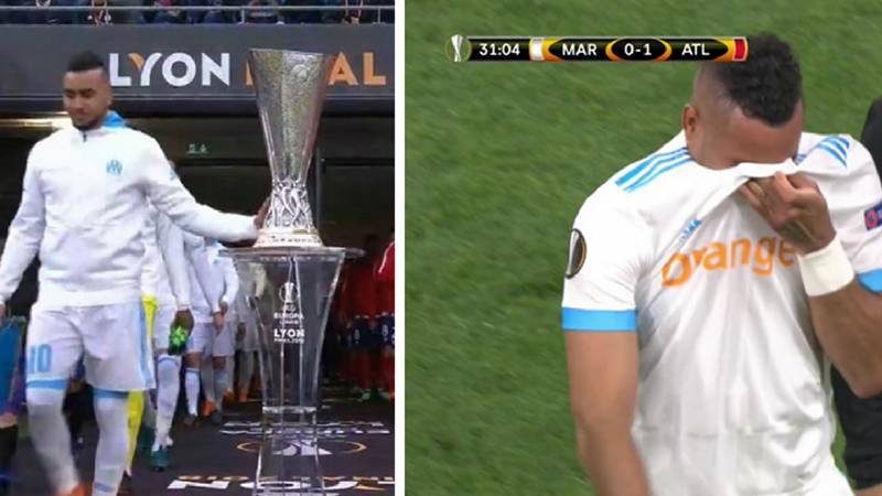 Dimitri Payet In Tears As He Limps Out Of Europa League Final