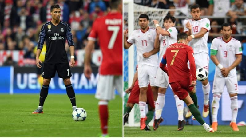Cristiano Ronaldo's Free-Kick Record Exposed In Damning Study