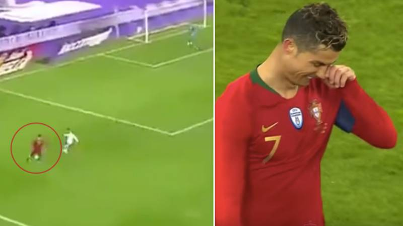 Cristiano Ronaldo Rolled Back The Years With Filthy Piece Of Skill From 2008