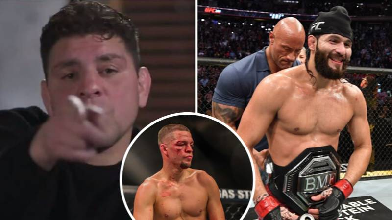Jorge Masvidal Responds Brilliantly To Nick Diaz Wanting To Fight Him
