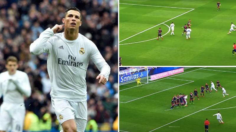 When Cristiano Ronaldo Responded To Real Madrid Boys With Four Goals In Second Half