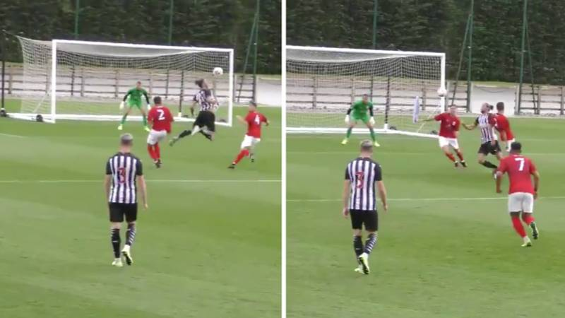 Andy Carroll Pulls Off Incredible Piece Of Skill And Somehow Manages To Score In Pre-Season Game
