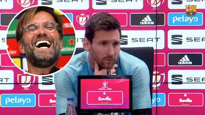 'What Happened At Liverpool Is In My Head,' Says Barcelona Captain Lionel Messi