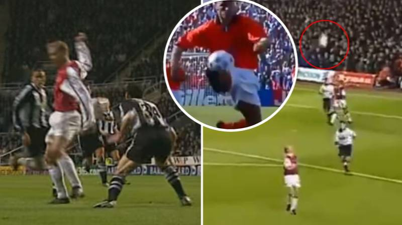 Dennis Bergkamp's First Touch Was Gifted To Him By The Football Gods