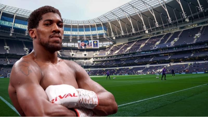 Anthony Joshua Lined Up For UK Return At Tottenham Hotspur Stadium