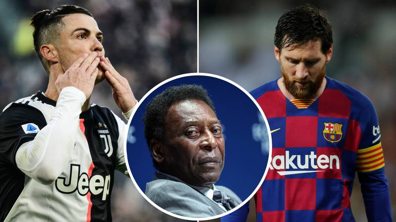 Pele Explains Why He Thinks Cristiano Ronaldo Is A Better Player Than Lionel Messi
