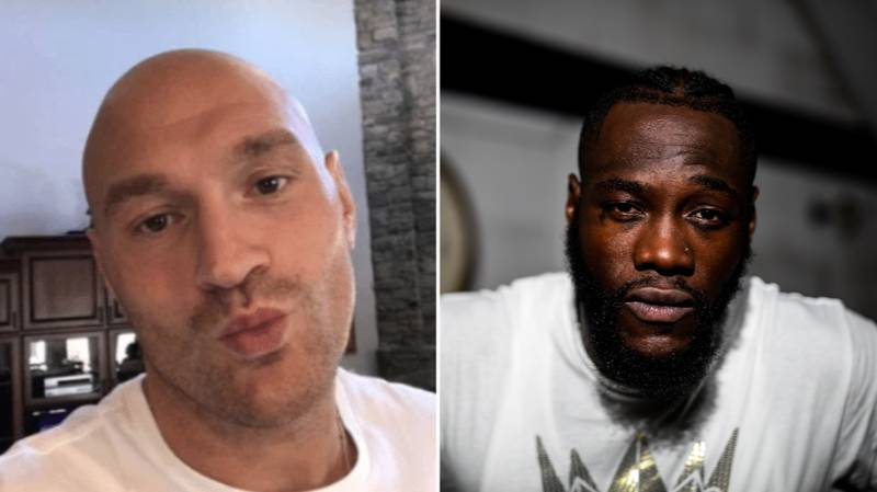 Tyson Fury Savagely Responds To Deontay Wilder's Criticism Of Upcoming Otto Wallin Fight