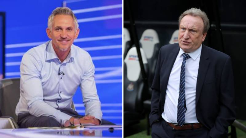 Neil Warnock Accidentally Tells Gary Lineker To 'F*ck Off' Live On TV