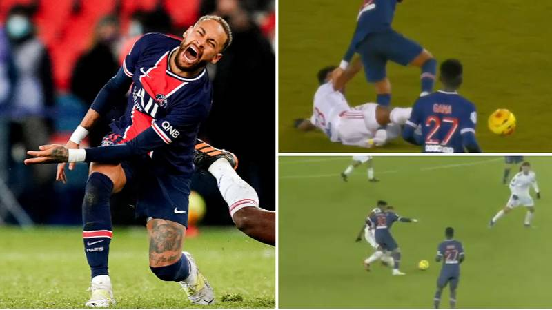 Neymar In Tears As He's Carried Off On A Stretcher Following Horrific Tackle