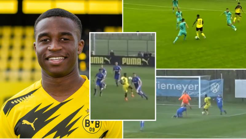 Youssoufa Moukoko Could Make Borussia Dortmund Debut This Weekend And His Highlights Are Insane