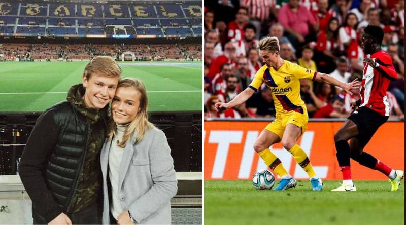 In 2015 Frenkie De Jong Travelled To The Nou Camp, Tonight He Made His Barcelona Debut