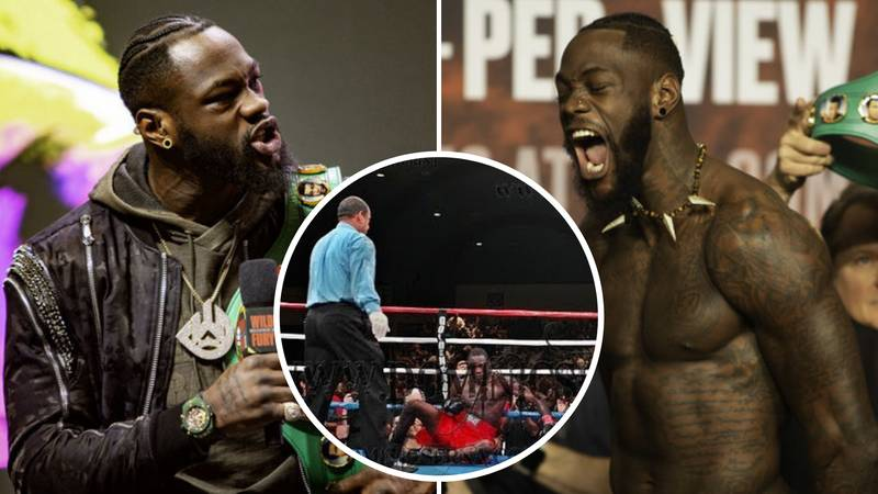 Deontay Wilder Was Left With 'Very Wobbly Legs' After Only Professional Knockdown Of His Career