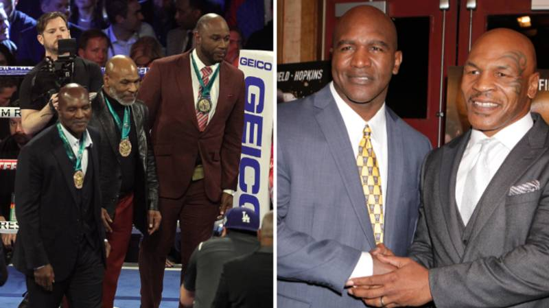Evander Holyfield Issues Official Statement Calling Out Mike Tyson For Trilogy Fight