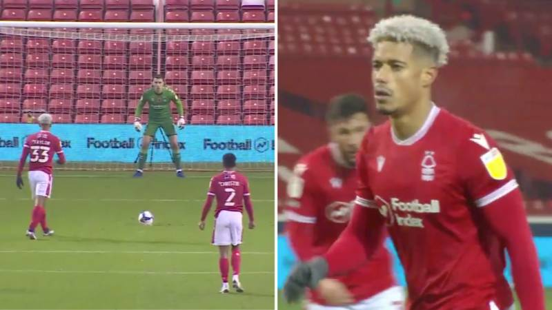 Nottingham Forest Striker Lyle Taylor Has 'The Most Disrespectful' Approach To Penalties In World Football