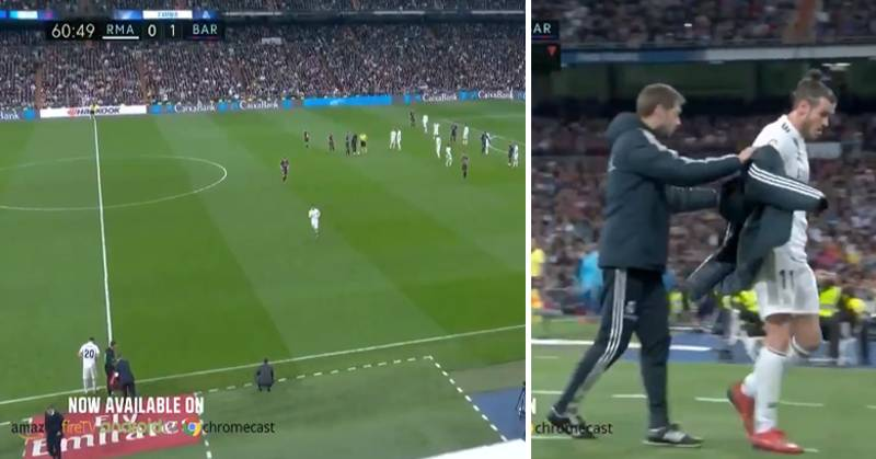 Real Madrid Fans Booed Gareth Bale After He Was Subbed Off In El Clásico