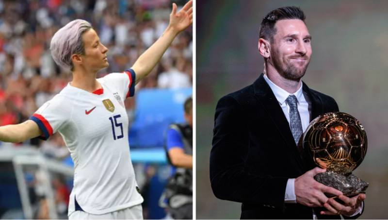 Megan Rapinoe Calls Out Lionel Messi For Not Speaking Out Against Sexism