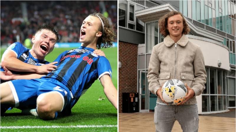Rochdale's 16-Year-Old Goalscorer Luke Matheson Will Take Psychology Exam At School Today