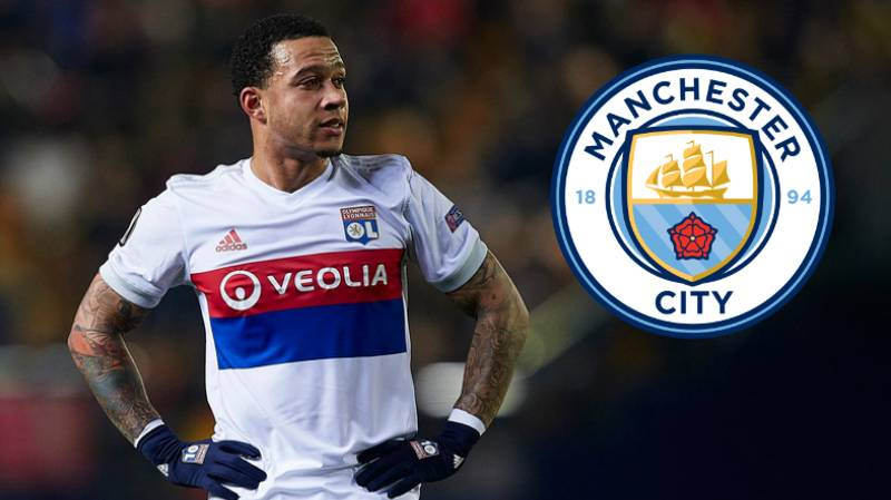 Lyon's Memphis Depay Is Open To Joining Manchester City
