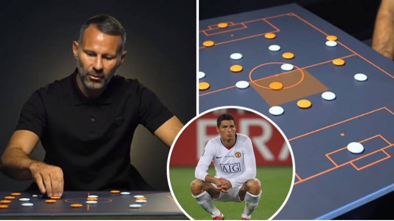 Ryan Giggs Breaks Down The Tactics Man United Used To Fit Cristiano Ronaldo's Game