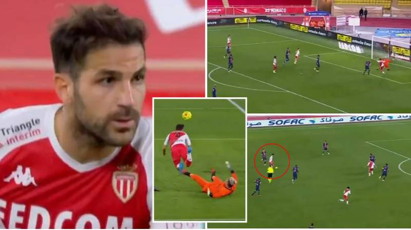 Cesc Fabregas' Game Changing And Match Winning Highlights Vs PSG Show He's Still World Class