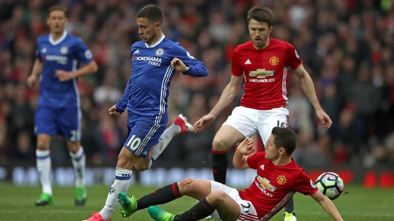 Ander Herrera Reveals What He Told Jose Mourinho Before Man-Marking Eden Hazard