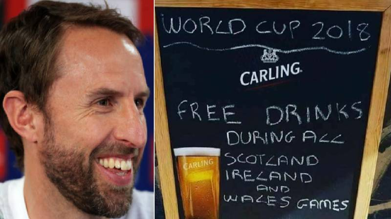 A Pub Is Serving Free Drinks During Scotland, Ireland And Wales World Cup Games