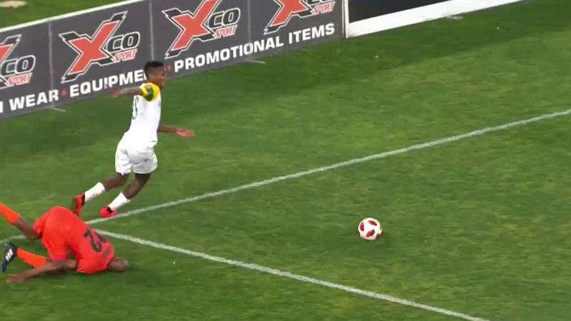 Watch: South Africa Player's 'Shibobo' Skill Made Opponent Eat The Turf
