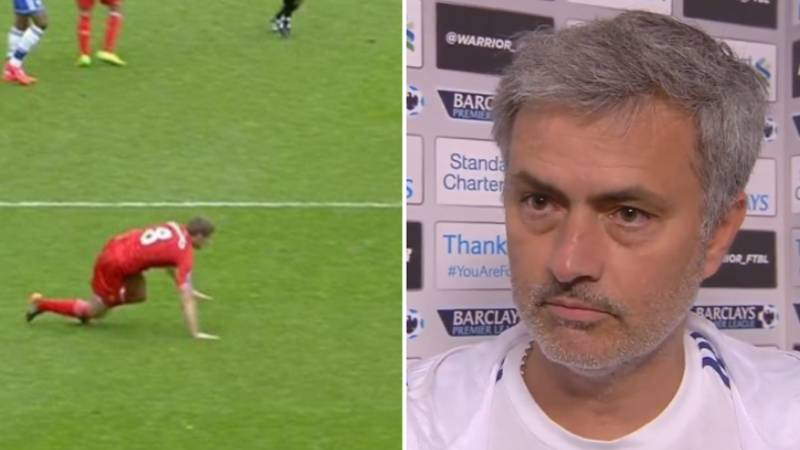 Remembering Jose Mourinho's Brilliant Post Steven Gerrard Slip Interview