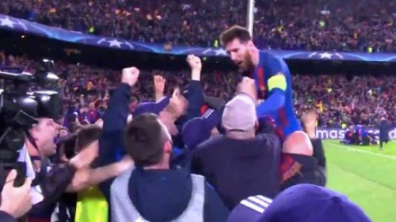 Lionel Messi's Most Emotional Celebration Ever Happened On This Day In 2017