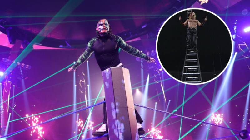 EXCLUSIVE: WWE Legend Jeff Hardy Has 'No Regrets' Over Crazy Daredevil Stunts