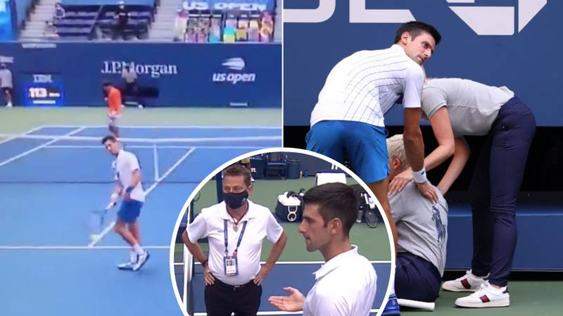 Novak Djokovic Disqualified From The US Open