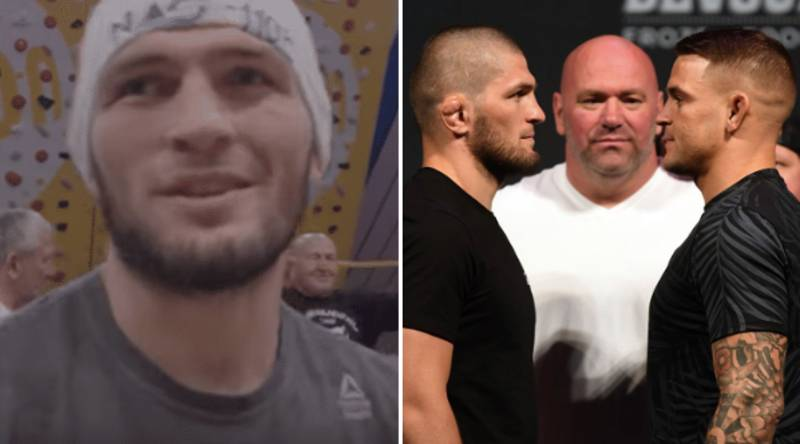 Khabib Sparks Rumours Of Not Making Weight For Comeback Fight After Missing UFC 242 Media Day