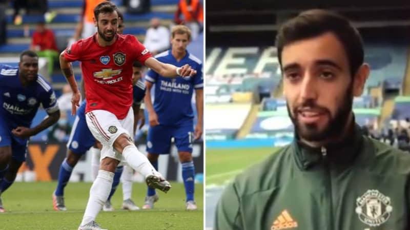 Bruno Fernandes Explains How Goalkeepers Help Him Score Penalties