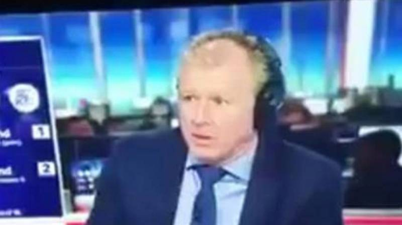 Remembering Steve McClaren Having All The Life Sucked Out Of Him Live On TV