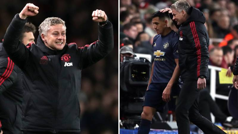 What Solskjær Said About Sánchez Before Arsenal Clash Proves He Knew He Would Score
