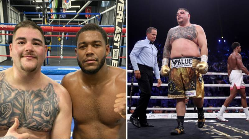 Andy Ruiz Jr's Sparring Partner Details How And When He Put So Much Weight On