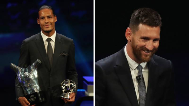 Virgil Van Dijk Beat Lionel Messi By Almost 100 Points To Win UEFA Men's Player Of The Year