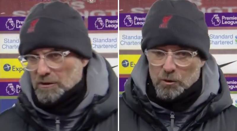 Jurgen Klopp Belittles Journalist With Ugly Putdown After Manchester City Defeat