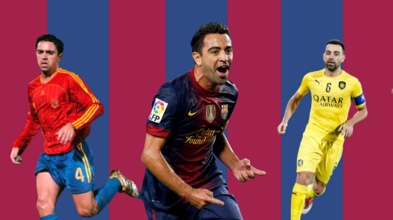 Xavi Has Played His Final Game As A Professional Footballer