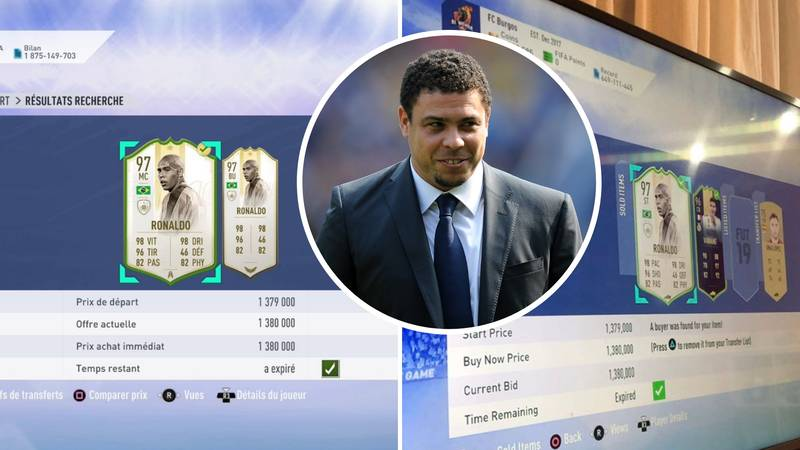 FIFA Player Accidentally Lists Prime Icon Ronaldo For 1.3m Coins, It Sells For Up To 15m