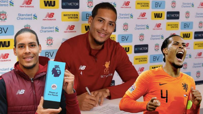Virgil Van Dijk Voted The Best Defender In World Football