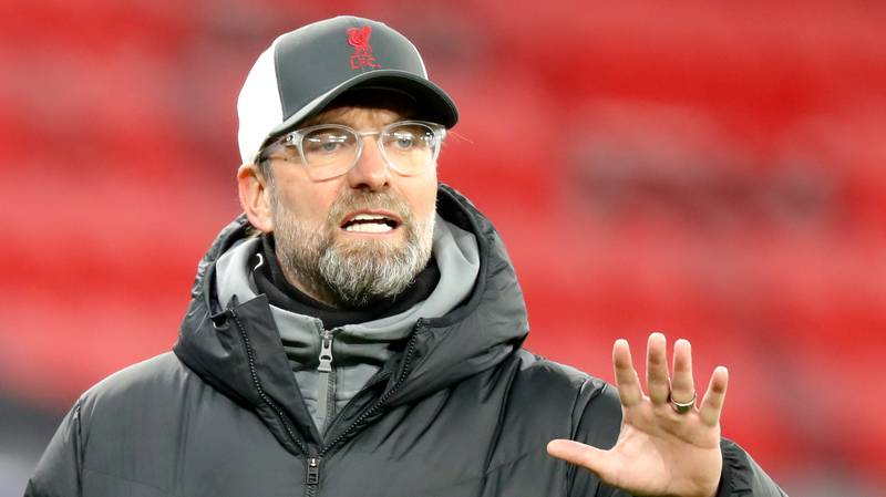 Jurgen Klopp Says Top Four Finish For Liverpool Would Be 'Big'