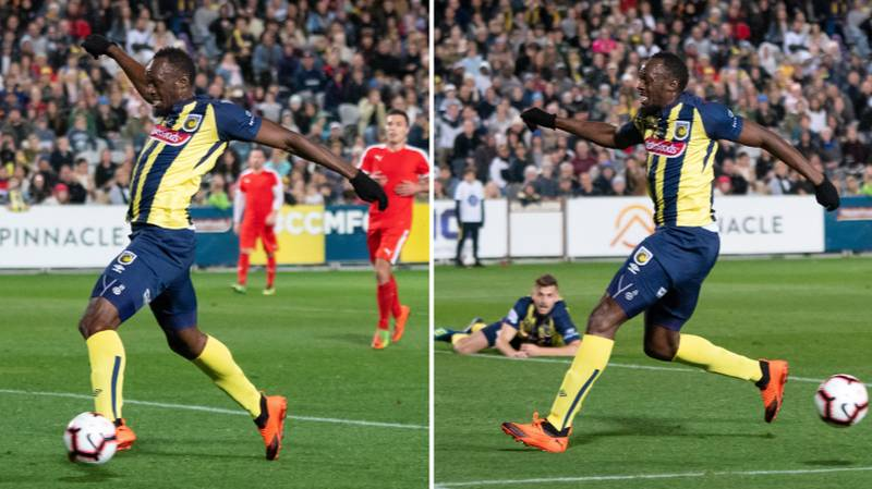 Former Republic Of Ireland Striker Says Usain Bolt Has 'A Touch Like A Trampoline'