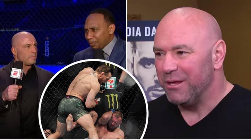 Dana White Finally Reacts To Stephen A. Smith's Controversial Donald Cerrone Claim