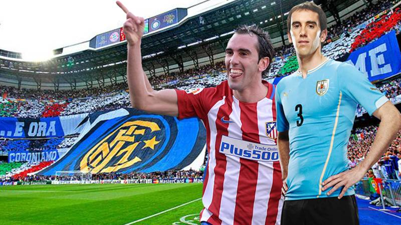 Diego Godin Will Sign For Inter Milan On Free Transfer In June