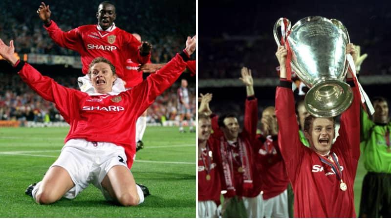 Ole Gunnar Solskjaer Injured Himself During 1999 Champions League Final Knee-Slide