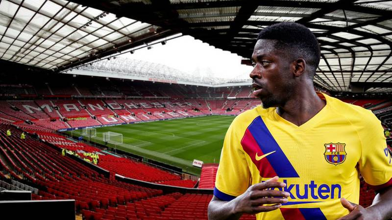 Manchester United In Talks With Barcelona Over Transfer Of Ousmane Dembele